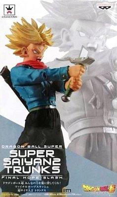 日本正版 景品 七龍珠超 把你們的力量借給我吧 超級賽亞人 特南克斯 模型 公仔 日本代購