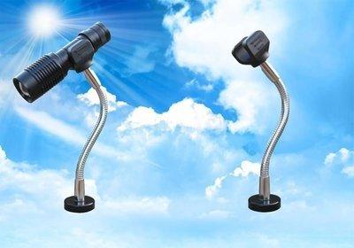 《信捷戶外》【F01】燈您來座 強力磁鐵多功能燈夾/萬用工作燈夾 適合 Q5 T6 手電筒
