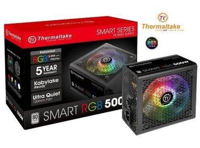 全新5年保養 曜越 TT 電競 Smart RGB 白牌 500W 電源供應器 POWER 80+