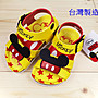 Disney迪士尼可愛米奇兒童氣墊涼鞋(463815)...