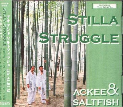 K - Ackee & Saltfish - Stilla Struggle - 日版 CD+1BONUS