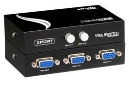~雅虎A店~ VGA切換器 2進1出  2進1出 1進2出 切換器 雙向 VGA切換器 雙