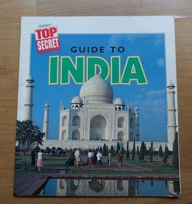 【英文童書】-- Guide to India  --***愛麗絲夢遊*** -- 英21
