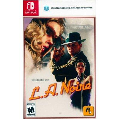 (現貨全新) NS SWITCH 黑色洛城 英文美版 L.A.Noire