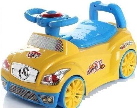 *歡樂屋*.....//賓士小汽車兩用式音樂兒童馬桶//.....可當助步車