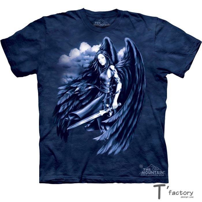 【線上體育】The Mountain 短袖T恤 L號 墮落天使