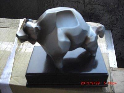 早期 牛雕象