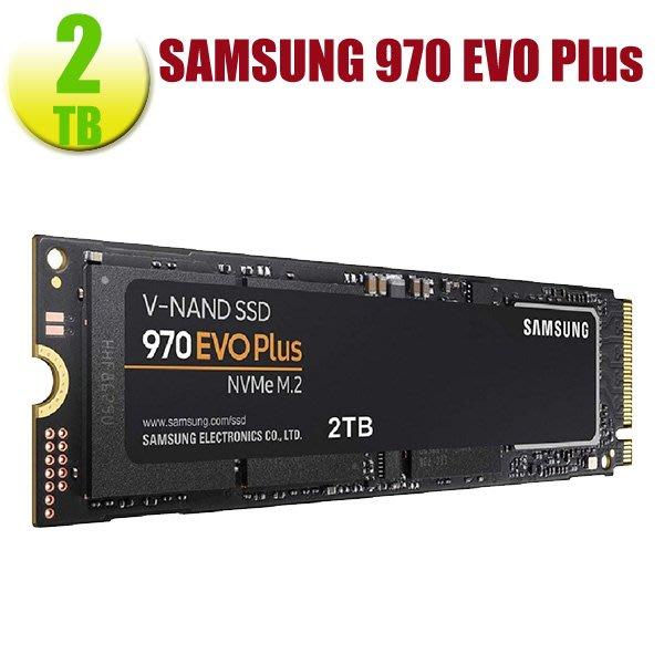 SAMSUNG SSD 2TB 2T 970 EVO PLUS【MZ-V7S2T0BW】PCIe 3.0 NVMe