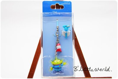 *B'Little World * [現貨] 東京迪士尼園區限定商品/三眼怪手機吊飾/東京連線