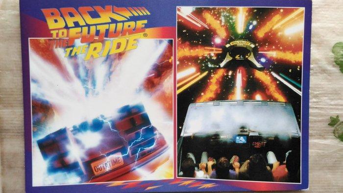 明信片   BACK TO THE FUTURE THE RIDE     【 可『 郵寄 』或『 超商取貨 』 】