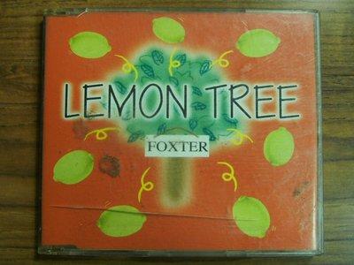MWM◎【二手CD】Foxter- Lemon Tree 無ifpi, 刮痕多不影響播放