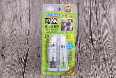 【南陽貿易】國森 修繕屋 陶瓷專用 15ml 接著劑 4803 黏著劑 快乾膠 瞬間膠
