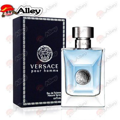【艾莉❤美妝小鋪】Versace Pour Homme 凡賽斯 經典男性淡香水 100ml~24/3