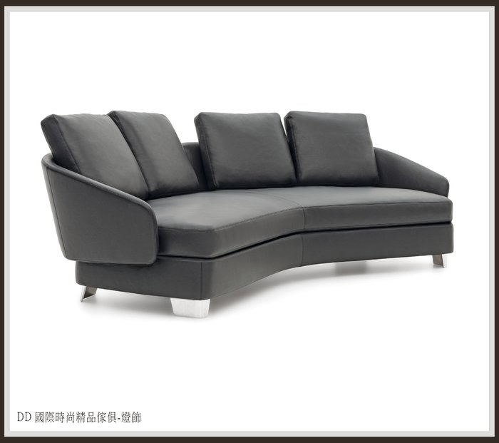 DD 國際時尚精品傢俱-燈飾 Minotti LAWSON (復刻版)L型沙發