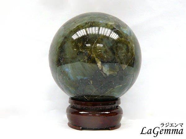 【寶峻水晶】天然灰長石/拉長石圓球LA-196/500g將黑暗轉化為彩虹,珍稀光譜石,啟發靈感創意