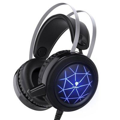現貨/電腦耳機頭戴式臺式電競遊戲耳麥網吧帶麥話筒cf NUBWO/狼博旺 N171SP5RL/ 最低促銷價