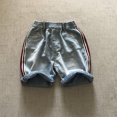 【Mr. Soar】 C4013 夏季新款 歐美style童裝男童牛仔短褲 現貨
