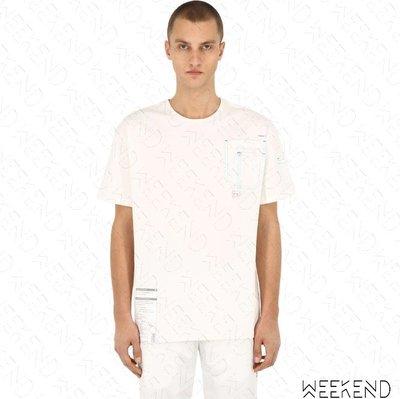 【WEEKEND】 C2H4 Workwear Chemist 化學製品 短袖 上衣 T恤 白色