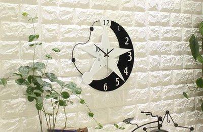 ZIHOPE 田園創意鐘錶掛鐘客廳現代簡約歐式臥室掛錶藝術時鐘靜音個性裝飾ZI812