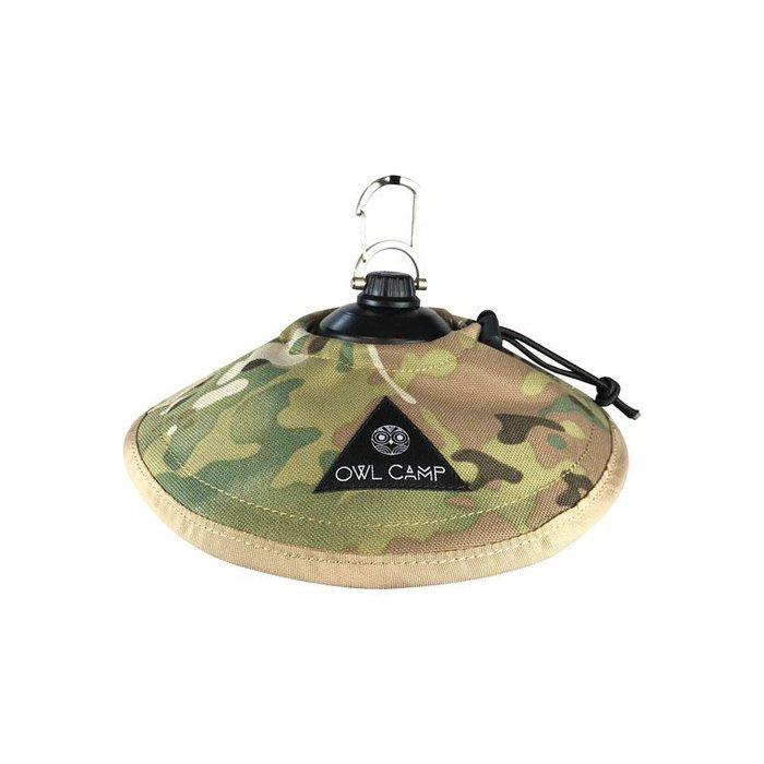【綠色工場】OWL CAMP PC-1903 多地迷彩燈罩