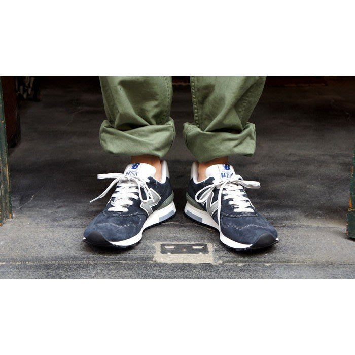 New Balance  NB M1400NV 海軍藍 深藍灰 經典 3M 麂皮 復古 慢跑鞋