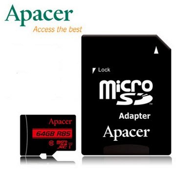 《SUNLINK》 Apacer 宇瞻 64G 64GB 85MB/ s microSD TF C10 記憶卡 台北市