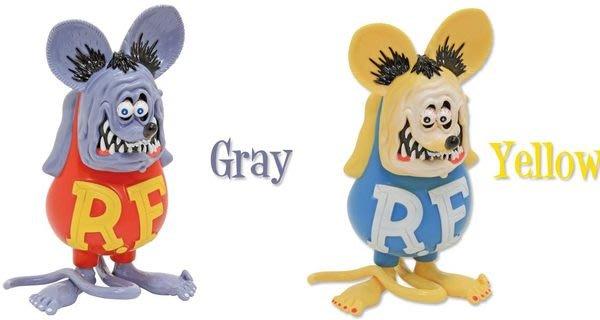(I LOVE樂多)RAT FINK Soft Vinyl Statue經典站姿老鼠芬克公仔 RF值得你收藏