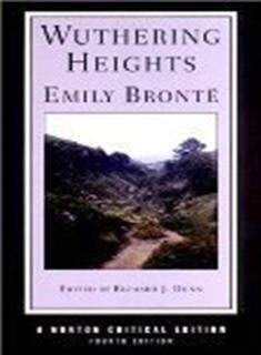 Wuthering Heights, 4/e (Norton Critical Editions)