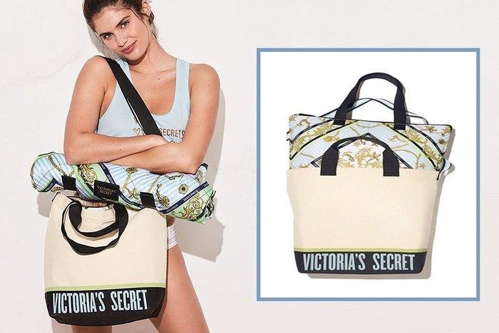 【iBuy瘋美國】全新正品 Victoria's Secret 維多利亞的秘密 保冷保熱 手提、斜背包兩用 可獨立兩用