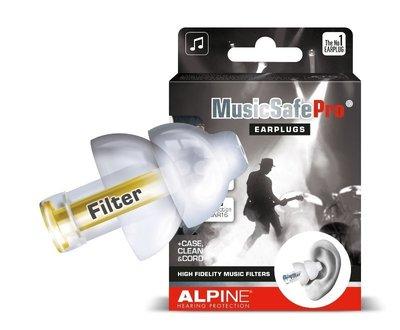 荷蘭Alpine MusicSafe Pro (透明色版) 音響設備/舞台工作者 專用濾音器/濾音耳塞