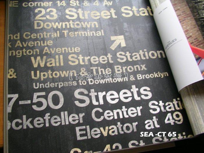【大台北裝潢】美國Seabrook進口壁紙CT* New York 工業風 英文字母牆(3色)