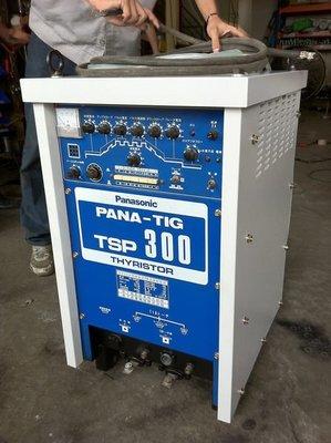 {中古焊接設備維修買賣出租}panasonic TSP-300直流氬焊機~雷射熔接機~ROBOT~