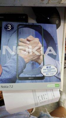 熱賣點 旺角店 NOKIA 7.2  前後雙鏡頭拍攝模式 全新 黑/綠