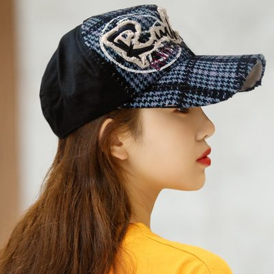 Rullers 韓製針織格紋棒球帽 Q037-4 FLYIN'DEUXE79  帽子專賣店