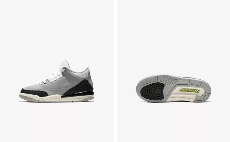 日本代購 Air Jordan Retro 3 429487-006 中童鞋(Mona)