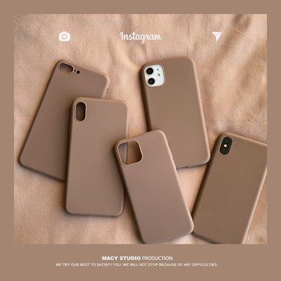 韓國ins防摔iphone11磨砂手機殼ProMax全包磨砂6保護殼8plus適用   iPhone12