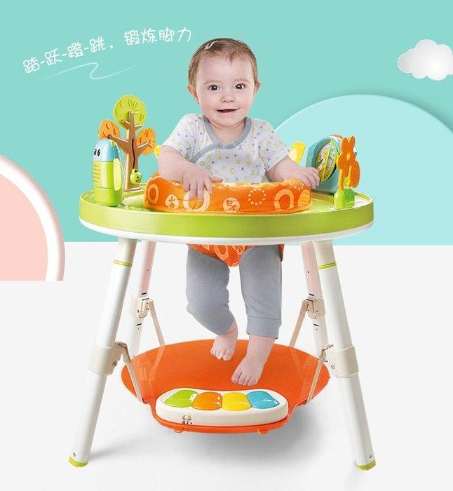 新款獅子王3合1歡樂跳跳椅~彈跳椅+遊戲桌+學習桌三合一~可360度旋轉~◎童心玩具1館◎