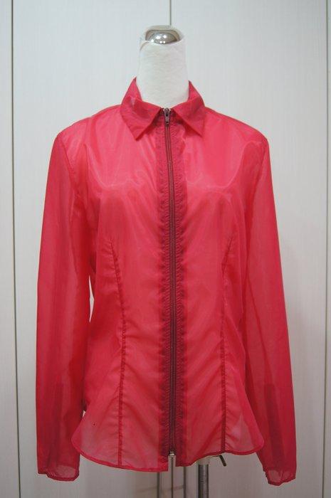 TREND  紅色長袖薄外套         特價  5800
