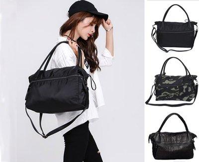 尼龍側背包 3用 旅行包 托特包 日韓 樂天 手機包 媽媽包 大容量 斜背包 肩背包 電腦包 大口包 包包 手提包