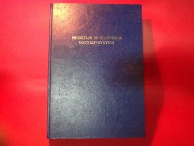 【愛悅二手書坊 07-43】Principles of Electronic Instrumentation