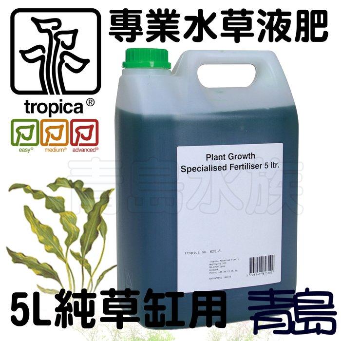 B。。。青島水族。。。P-623A丹麥Tropica水草大師-----專業水草液肥(含氨.硝酸鹽.磷酸鹽)純草缸==5L