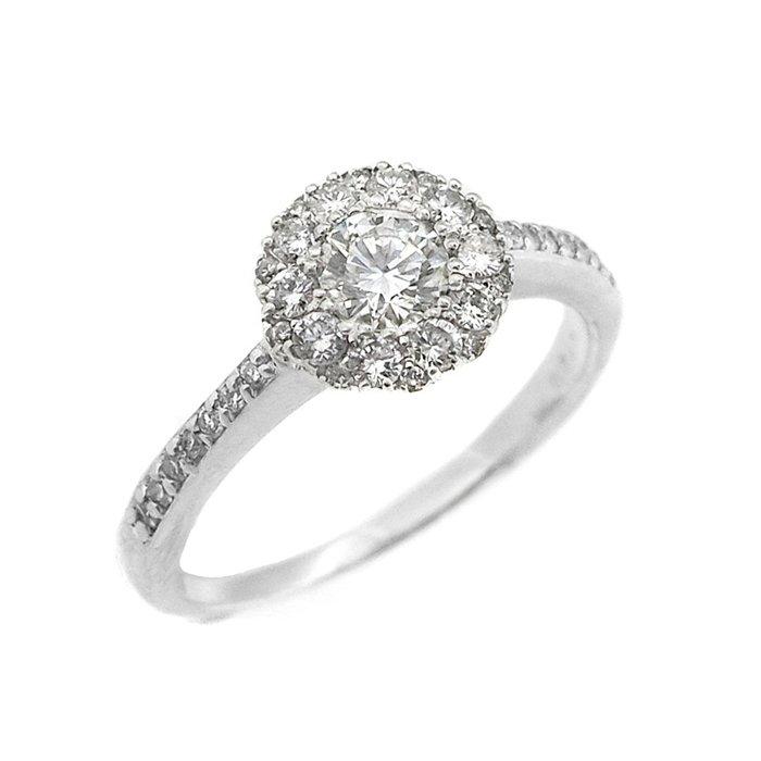 【JHT金宏總珠寶/GIA鑽石專賣】0.307ct天然鑽石戒指/材質:18K/G-VVS1(JB43-A03)