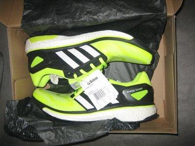 稀有 絕版配色 全新 第一代 Adidas Energy Boost 螢光黃 US12