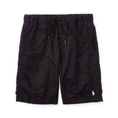 美國百分百【全新真品】Ralph Lauren 抽繩短褲 休閒褲 褲子 Polo RL 小馬 黑色 XS S號 I967