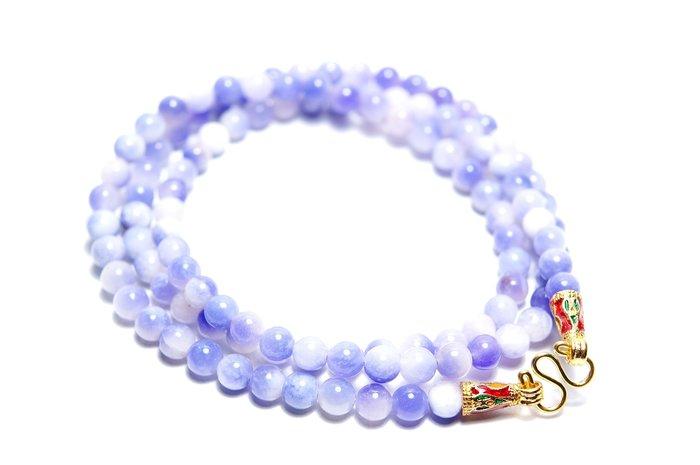 「還願佛牌」泰國 佛牌 鍊 鏈 串珠款 項鍊 單掛 經典 紫玉髓