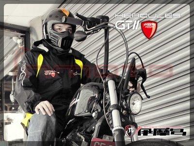 伊摩多※零碼出清S 黑螢光黃 Hercules 海格力斯 RC42 超輕量款兩件式 反光 風衣 雨衣 贈腰包