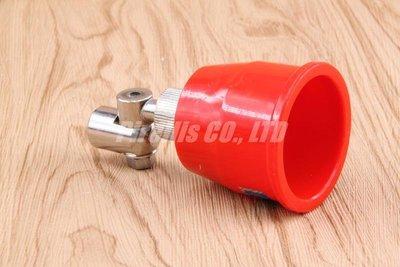 【南陽貿易】紅 喇叭頭 氣流噴嘴 KN01-02 噴藥桿 灑農藥