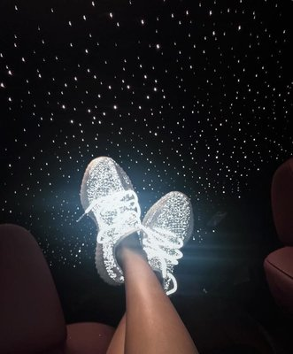 350v2滿天星椰子鞋小白鞋情侶鞋運動鞋 36-48 明星同款 周揚青小豬