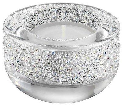 SWAROVSKI施華洛世奇水晶燭台-透明色~百貨公司專櫃正品~