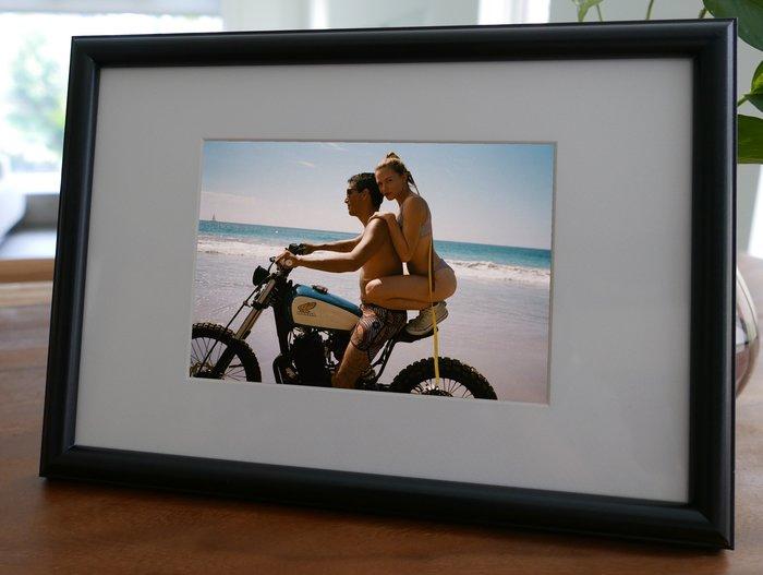 聚鯨Cetacea﹡Art~KLFZ~1753~motorcycle摩托車 beach海灘